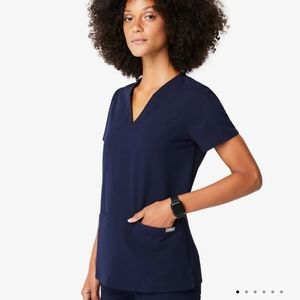 New Figs Navy scrubs set XXS